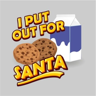 i put put for santa light grey