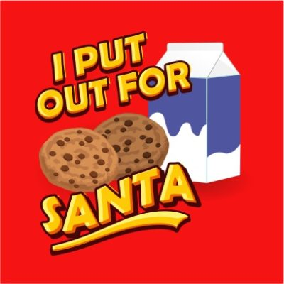 i put put for santa red