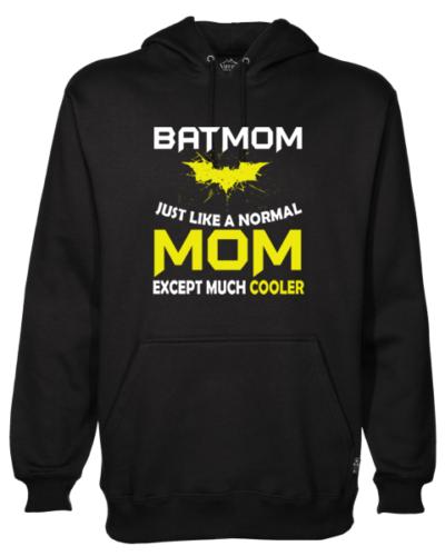 Batmom Black Hoodie