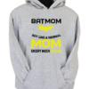 Batmom Grey Hoodie
