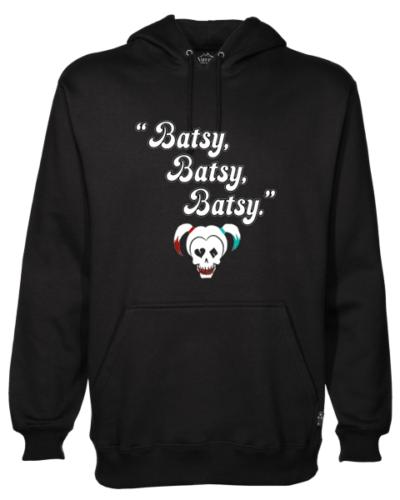 Batsy Black Hoodie