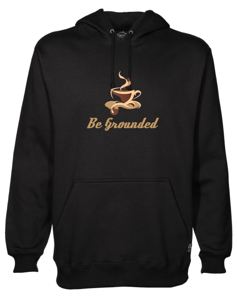 Be Grounded Black Hoodie