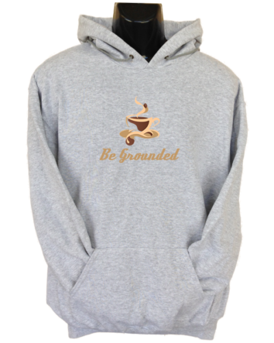 Be Grounded Grey Hoodie