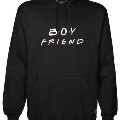 Boyfriend Black Hoodie