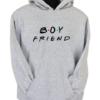 Boyfriend Grey Hoodie