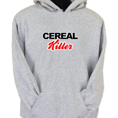 Cereal Killer Grey Hoodie