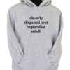 Cleverly Disguised Grey Hoodie