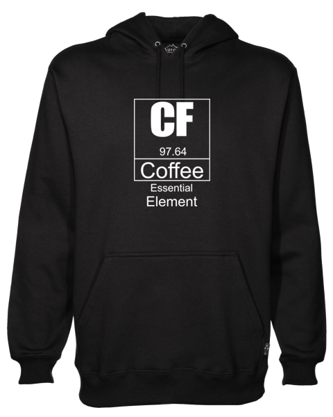 Coffee Essential Black Hoodie