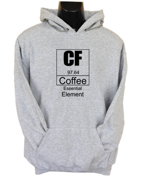 Coffee Essential Grey Hoodie