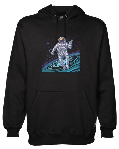 Cosmonaut Black Hoodie