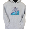 Cosmonaut Grey Hoodie