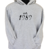 Established 1989 Black Hoodie