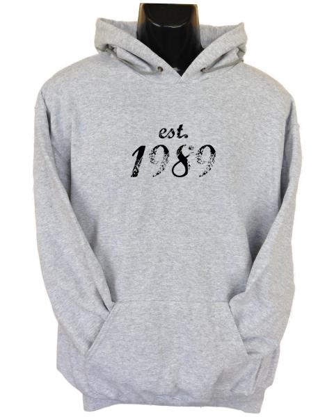 Established 1989 Black Hoodie