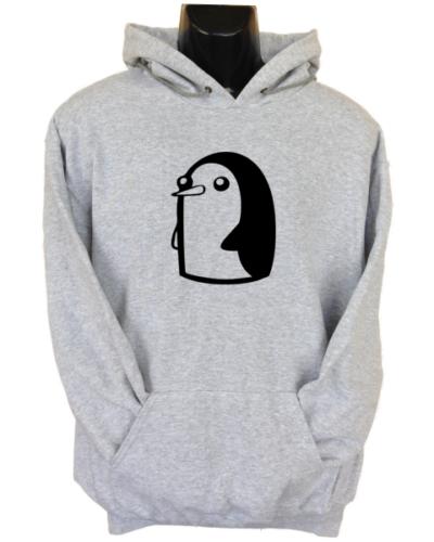 Evil Penguin Grey Hoodie