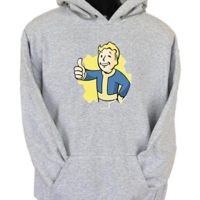 Fallout Boy Grey Hoodie