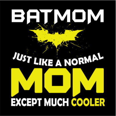 batmom black square