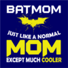 batmom navy square