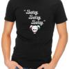 batsy mens tshirt black