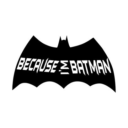 because i_m batman white square