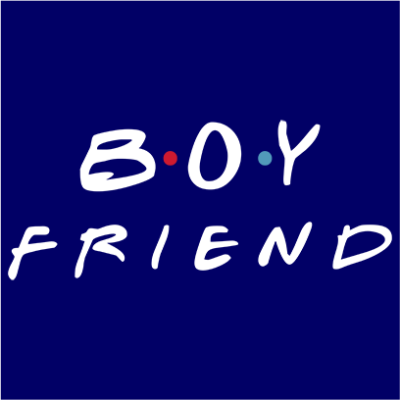 boyfriend navy square