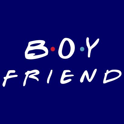 boyfriend navy square