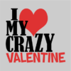 crazy valentine grey square