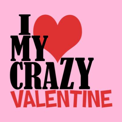 crazy valentine pink square