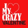 crazy valentine red square