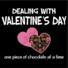 dealing with valentines black square