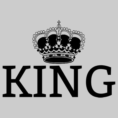 king grey square