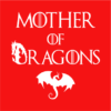 mother of dragons red square