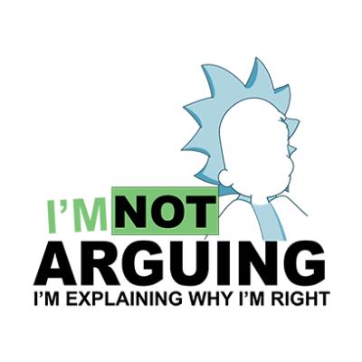 not arguing white square