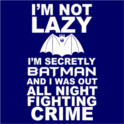 not lazy navy square