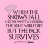 pack survives pink square