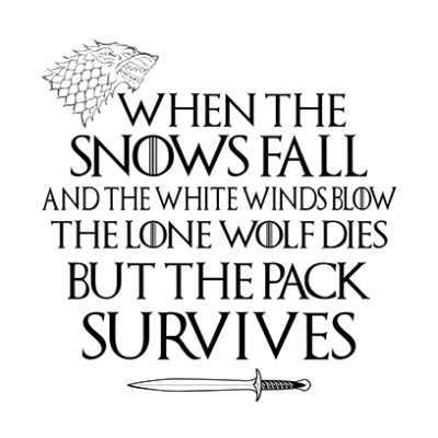pack survives white square