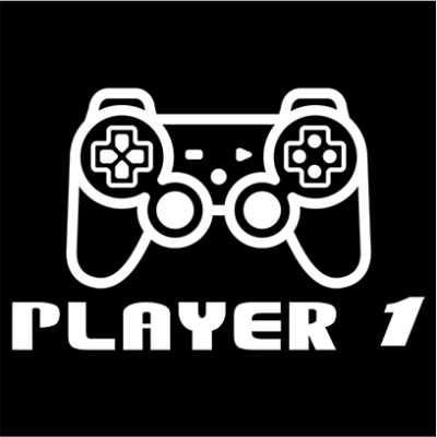 player 1 black square