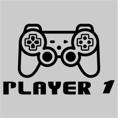 player 1 grey square