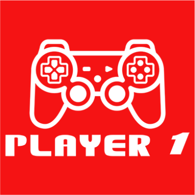 player 1 red square