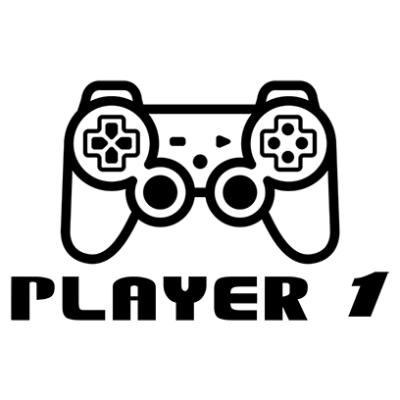 player 1 white square