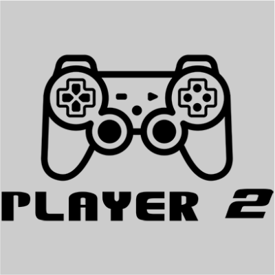 player 2 grey square