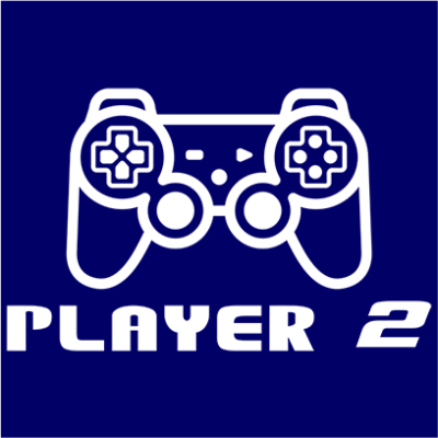 player 2 navy square
