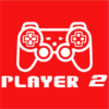 player 2 red square