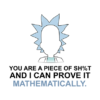 prove it mathematically white square