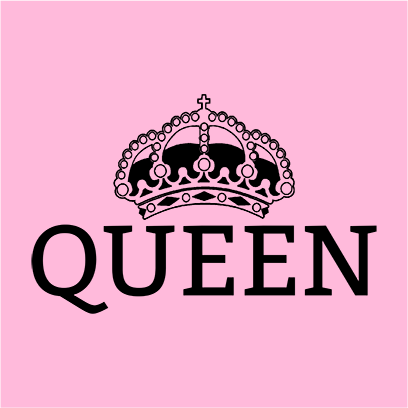 queen pink square
