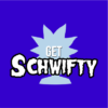 schwifty blue square