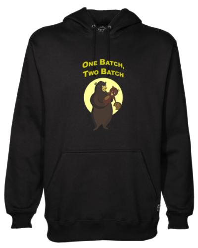One Batch Two Batch Black Hoodie