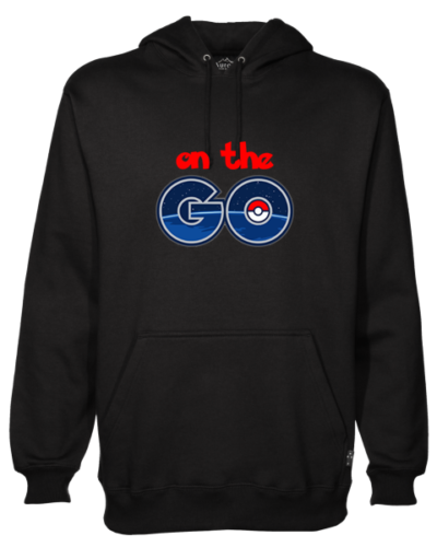 Pokemon On The Go Black Hoodie