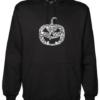 Pumpkin Face Black Hoodie