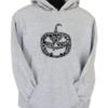 Pumpkin Face Grey Hoodie