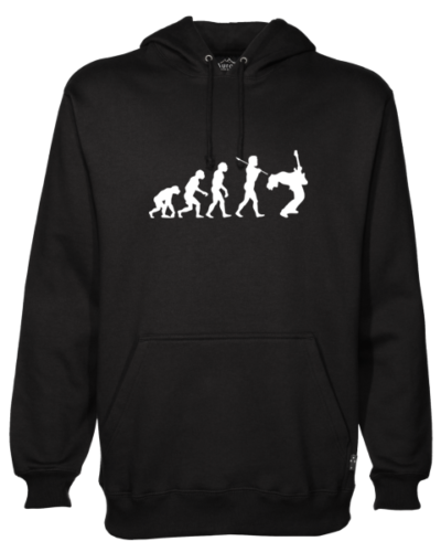 Rock Evolution Black Hoodie